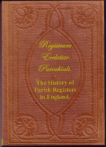 The History of Parish Registers in England