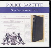 New South Wales Police Gazette 1919