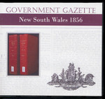 New South Wales Government Gazette 1856