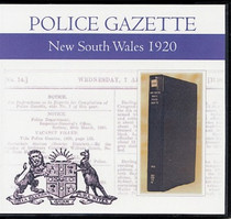 New South Wales Police Gazette 1920