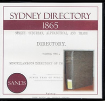 Sydney Directory 1865 (Sands)