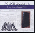 New South Wales Police Gazette 1921