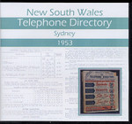 New South Wales Telephone Directory 1953: Sydney