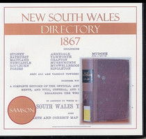New South Wales Directory 1867 (Samson)