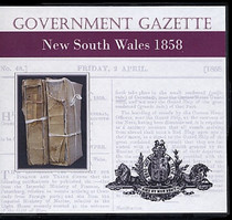 New South Wales Government Gazette 1858