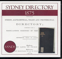 Sydney Directory 1875 (Sands)