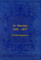 Shropshire Parish Registers: St Martins 1601-1837