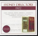 Sydney Directory 1902 (Sands)