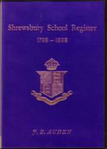 Shrewsbury School Register, Shropshire 1798-1898