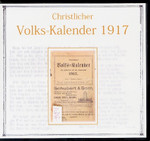 Christlicher Volks-Kalendar 1917
