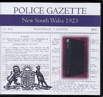 New South Wales Police Gazette 1923