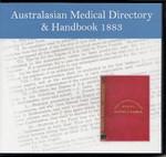 Australasian Medical Directory and Handbook 1883