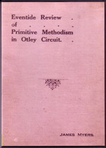 Eventide Review of Primitive Methodism in Otley Circuit, Yorkshire
