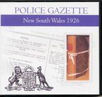New South Wales Police Gazette 1926