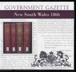 New South Wales Government Gazette 1866