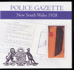 New South Wales Police Gazette 1928