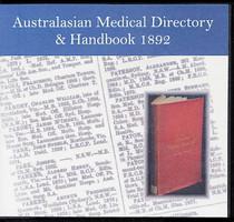 Australasian Medical Directory and Handbook 1892