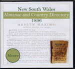 New South Wales Almanac and Country Directory 1896 (Moore)