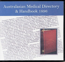 Australasian Medical Directory and Handbook 1896