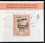 Gympie in its Cradle Days: Reminiscences of Gympie's Pioneer Days