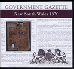 New South Wales Government Gazette 1870