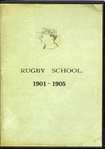 Rugby School Yearbooks, Warwickshire 1901-1905