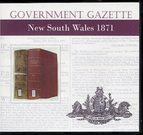 New South Wales Government Gazette 1871