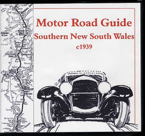 Motor Road Guide Southern New South Wales c1939