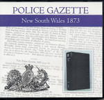 New South Wales Police Gazette 1873