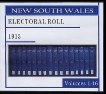 New South Wales State Electoral Roll 1913
