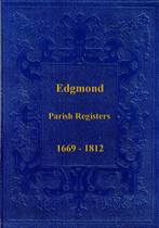 Shropshire Parish Registers: Edgmond 1669-1812