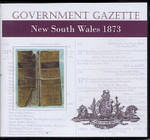 New South Wales Government Gazette 1873