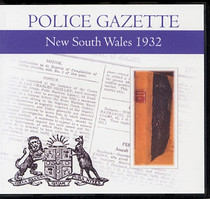 New South Wales Police Gazette 1932