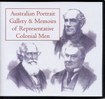 Australian Portrait Gallery and Memoirs of Representative Colonial Men