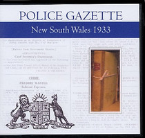 New South Wales Police Gazette 1933