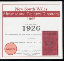 New South Wales Almanac and Country Directory 1926 (Moore)