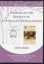 Journal of the Society of Australian Genealogists 1933-2008 (Private Use)
