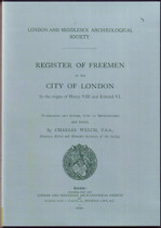 Register of the Freemen of the City of London