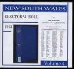 New South Wales State Electoral Roll 1913 Volume 4
