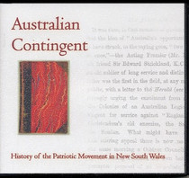 Australian Contingent: History of Patriotic Movement in New South Wales