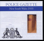 New South Wales Police Gazette 1935
