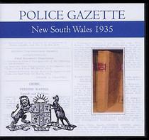 New South Wales Police Gazette 1935