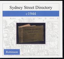 Sydney Street Directory c1944 (Robinson)