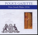 New South Wales Police Gazette 1936