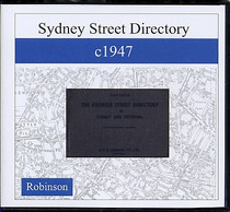 Sydney Street Directory c1947 (Robinson)