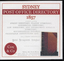 Sydney Post Office Directory 1857 (Cox & Co)