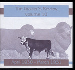 The Grazier's Review Volume 10: April 1930-March 1931