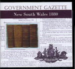 New South Wales Government Gazette 1880