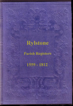 Yorkshire Parish Registers: Rylstone 1559-1812