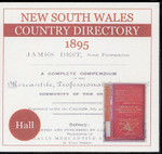 New South Wales Country Directory 1895 (Hall)